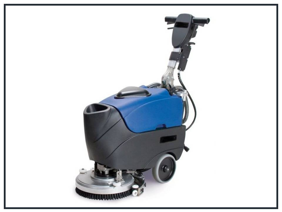 Battery Warehouse Plus Floor Scrubber